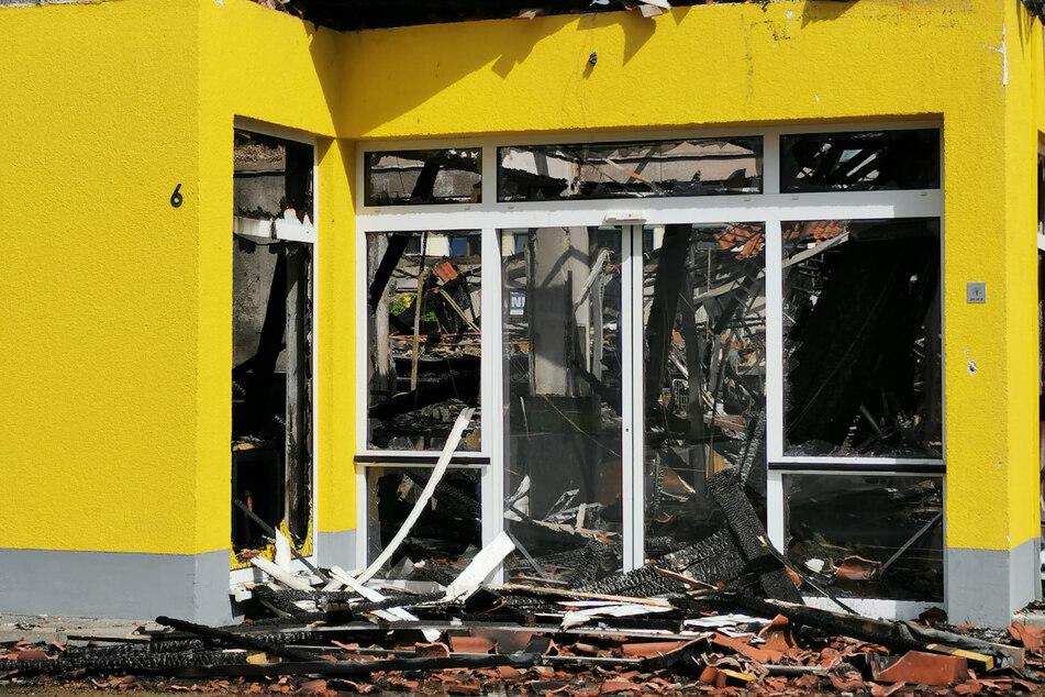 Das ganze Ausmaß der Zerstörung wird am Tage sichtbar. Eine Dreiviertelmillion Euro Schaden ist entstanden.