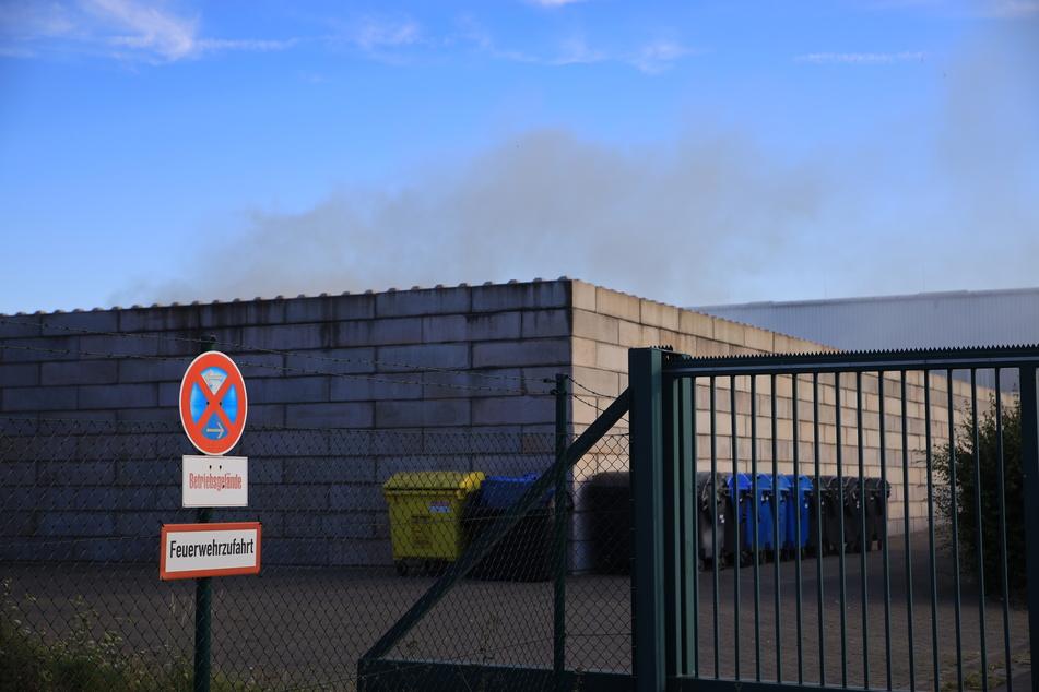 Auf dem Gelände einer Mülldeponie kam es zu zwei Bränden.