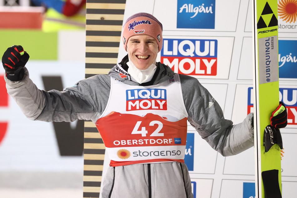 Skispringer Karl Geiger gewinnt Silber bei Heim-WM in Oberstdorf!