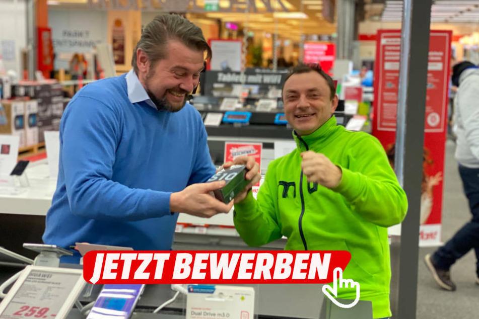 Jobangebot: MediaMarkt Dresden sucht Mobilfunk-Promoter (m/w/d)!