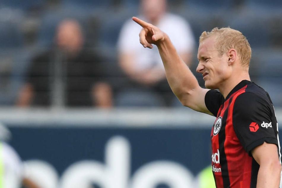 Seit 2019 trägt der gebürtige Südhesse Sebastian Rode (30) wieder das Trikot von Eintracht Frankfurt.