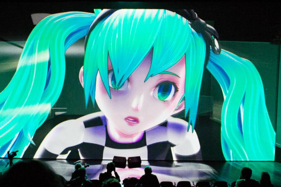 Die virtuelle Figur Miku Hatsune erfreut sich in Japan großer Beliebtheit. Viele Männer schwärmen für animierte Figuren.