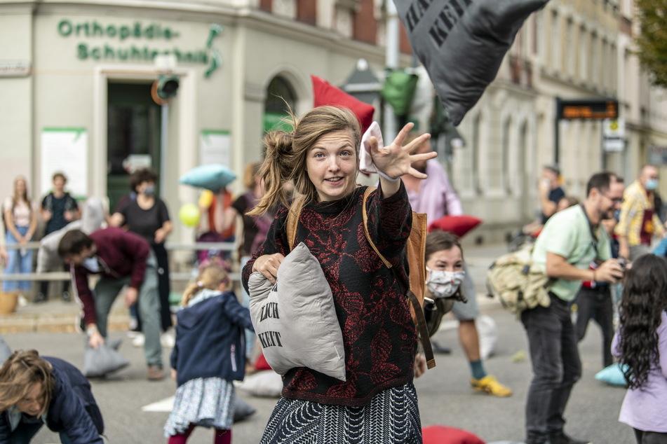 """Beim """"Hang zur Kultur"""" auf dem Sonnenberg wird es auch dieses Jahr wieder eine Kissenschlacht geben."""