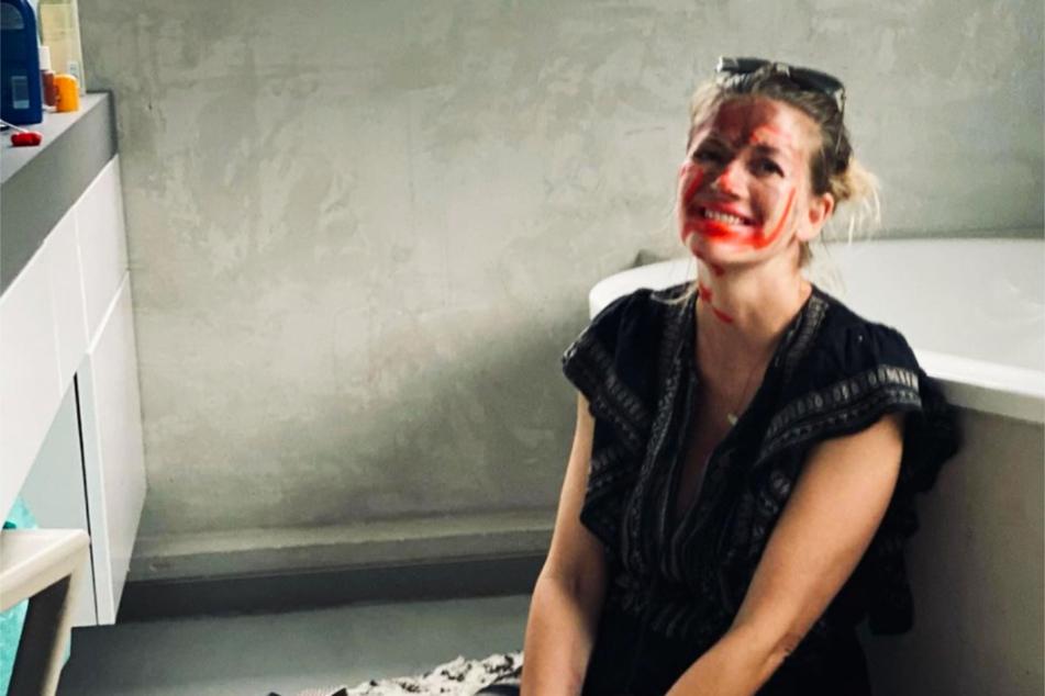 """Schauspielerin Nina Bott (43) hat vier Kinder und dementsprechend turbulent ist der Alltag der ehemaligen """"Gute Zeiten, schlechte Zeiten""""-Darstellerin."""
