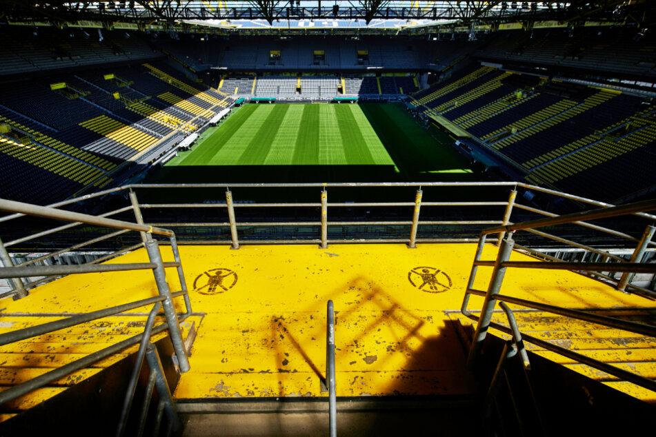 Noch ruht der Ball in den Stadien - wie hier der Signal Iduna Park in Dortmund. (Symbolbild)