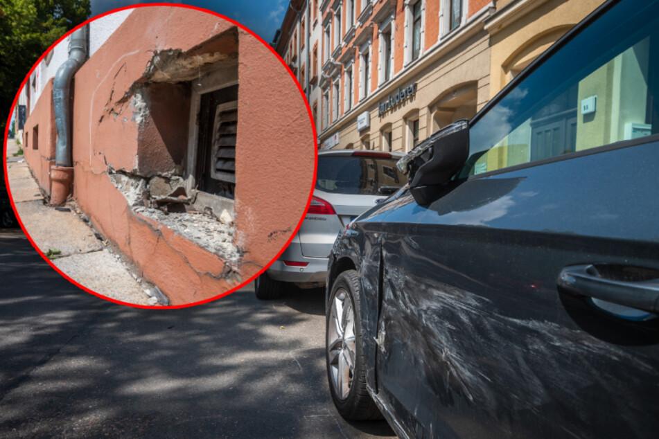 Wilde Verfolgungsjagd durch Chemnitz endet mit einem Schwerverletzten und 51.000 Euro Schaden