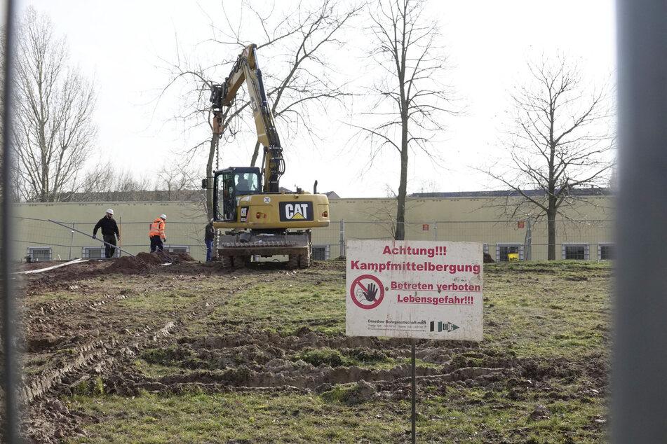 Bombenfund in Chemnitz? Bauarbeiten an Grundschule gestoppt