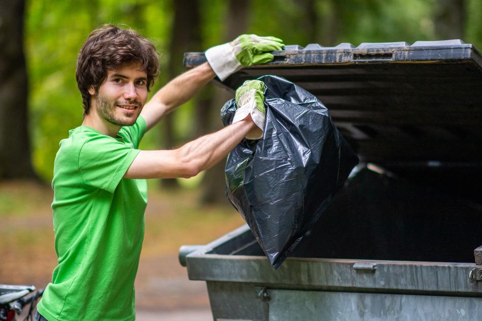 Weiß von Müll-Konsequenzen: Daniel Schiebel (24) von Greenpeace Chemnitz.