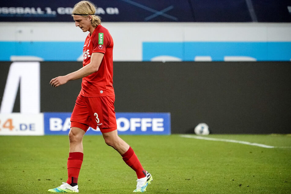 Sebastiaan Bornauw (21) fehlt dem 1. FC Köln nach seiner Roten Karte gegen Leipzig und Augsburg.