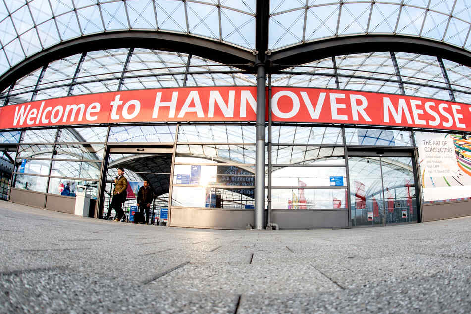 """Der Schriftzug """"Welcome to Hannover Messe"""" wird es in diesem Jahr nicht geben."""