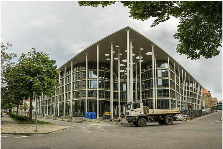 Endlich! Neubau der Sächsischen Aufbaubank in Leipzig eröffnet
