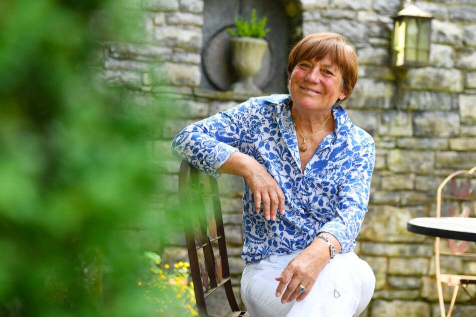 Die ehemalige Skirennläuferin Rosi Mittermaier an ihrem Wohnort in Garmisch-Partenkirchen. Heute wird sie 70, herzlichen Glückwunsch!