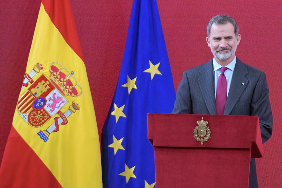 König Felipe VI (52) von Spanien.