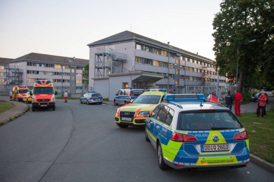 Tumulte mit 140 Personen in Asylheim