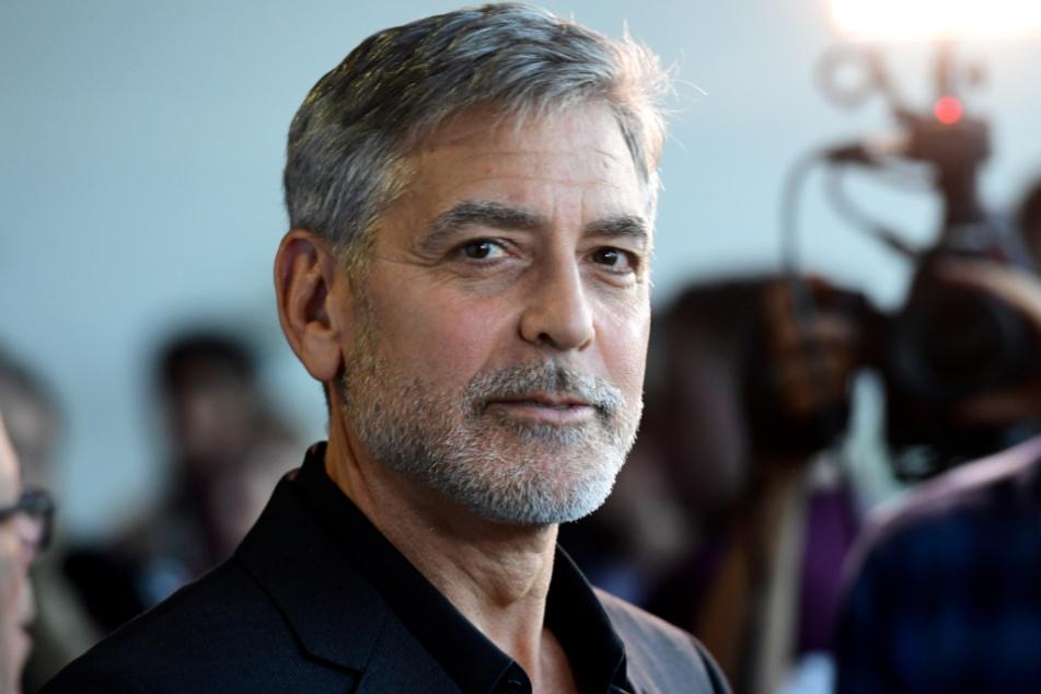 """London 2019: George Clooney bei der Premiere des Films """"Catch-22 - Der böse Trick"""" im GUE Cinema Westfield."""