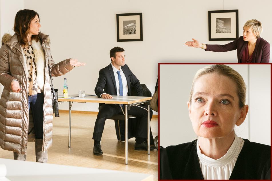 """""""Alles was zählt""""-Sorgerechtsstreit geht vors Gericht: Kriminelle Daniela crasht Verhandlung!"""