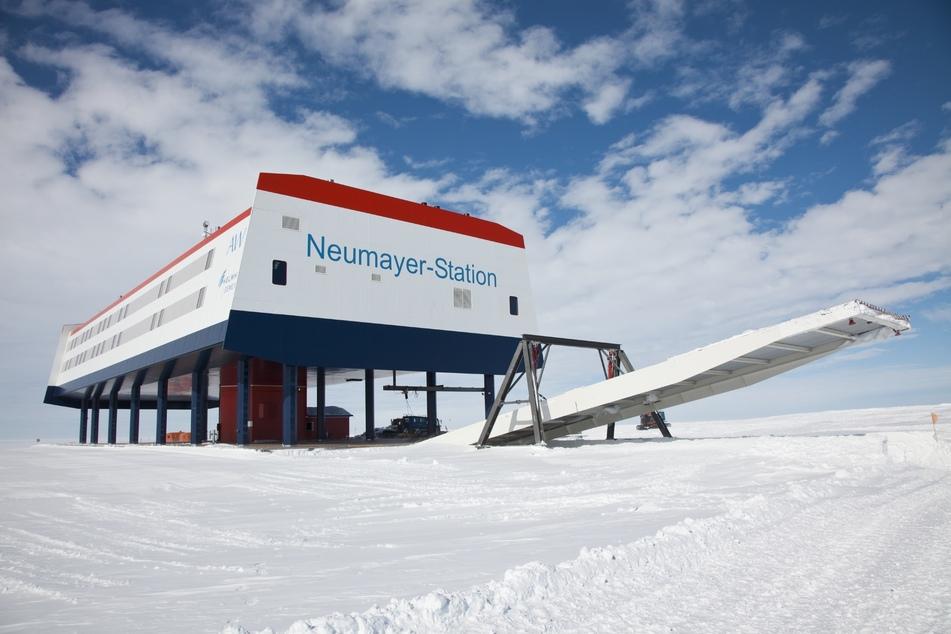 """Die deutsche Forschungsstation """"Neumayer-Station III"""" steht in der Antarktis. (Symbolbild)"""