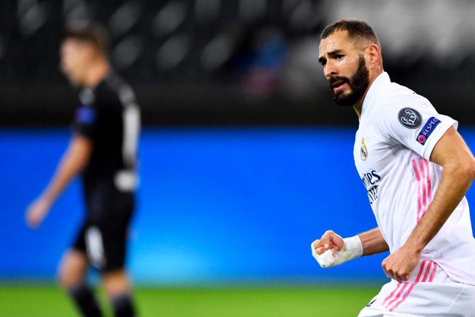 """Real-Star Benzema mobbt Mitspieler gegen Gladbach: """"Bruder, spiel nicht zu ihm""""!"""