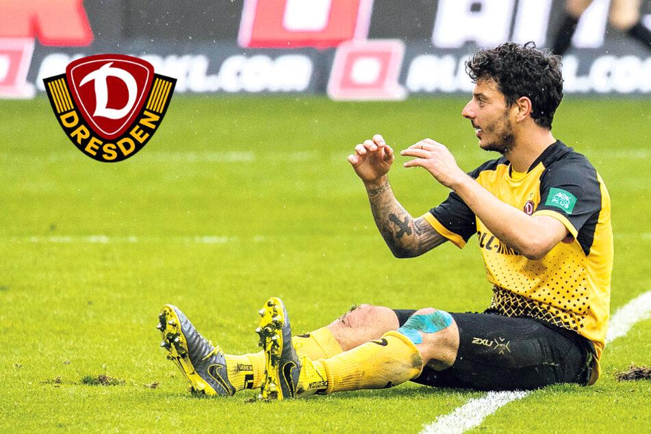 Dynamo-Stürmer Philipp Hosiner: Agil, technisch stark, aber (noch) glücklos