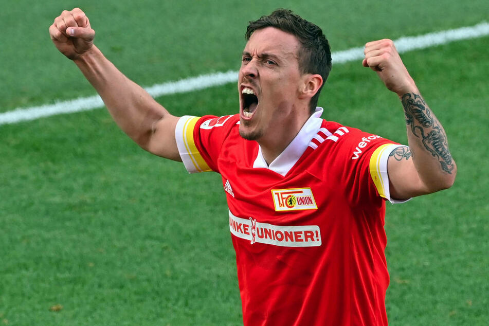 Union-Stürmer Max Kruse (33) will bei den Olympischen Spielen endlich wieder im Trikot der Deutschen Nationalmannschaft jubeln.