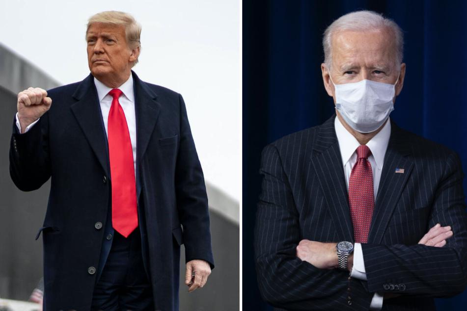 "Border wall blocked: Biden calls Trump's pet project a ""waste of tax dollars"""