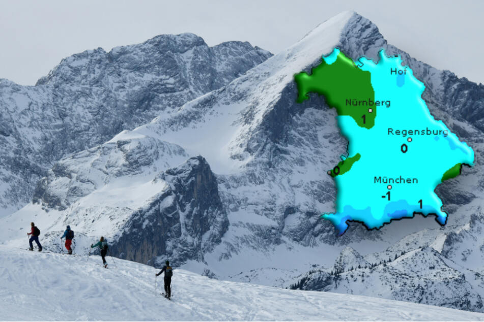 Starker Schneefall in Bayern: So startet das Wetter in die Woche