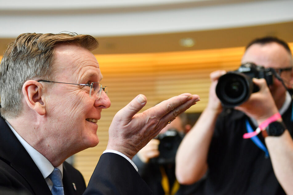 Bodo Ramelow hat sich im dritten Wahlgang durchgesetzt.