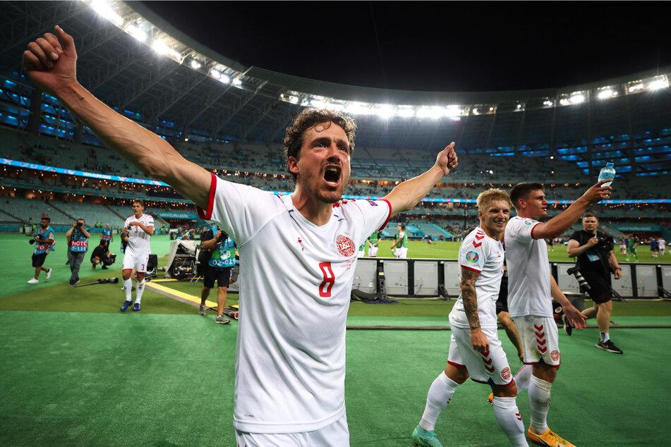 Thomas Delaney (29) schrieb mit Dänemark EM-Geschichte und drang bis ins Halbfinale vor.