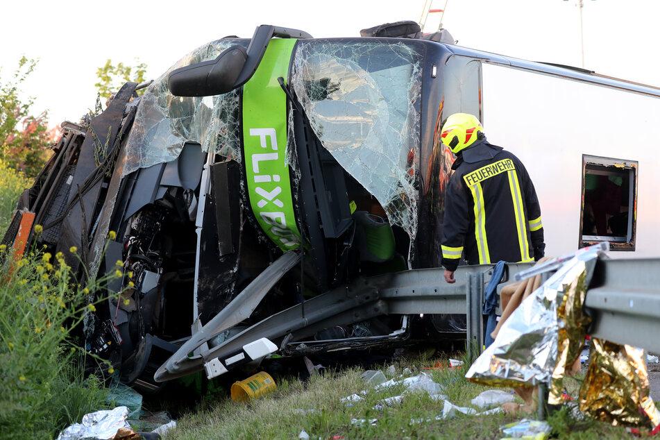 Eine 63-jährige Frau kam bei dem Unfall am 19. Mai 2019 ums Leben, 72 weitere Menschen wurden teils schwer verletzt.