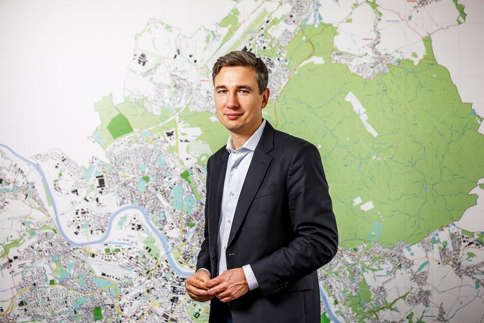 Baubürgermeister Stephan Kühn (41, Grüne).