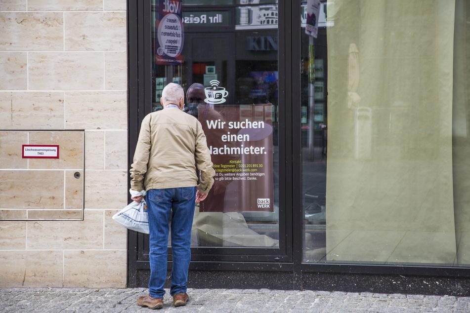 93 City-Läden in Dresden stehen mittlerweile leer.