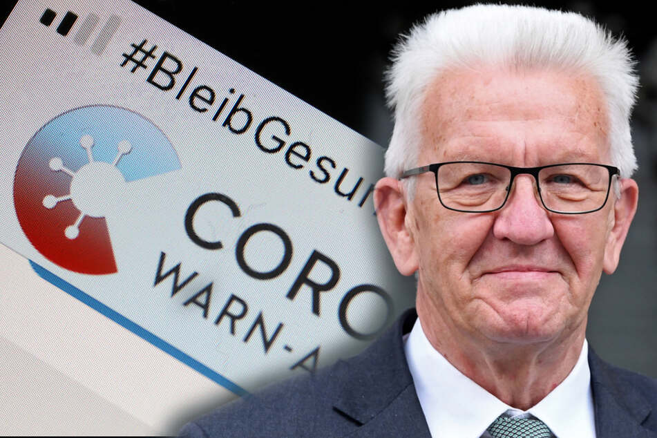 Datenschutz lockern: Kretschmann will die Corona-App deutlich erweitern!