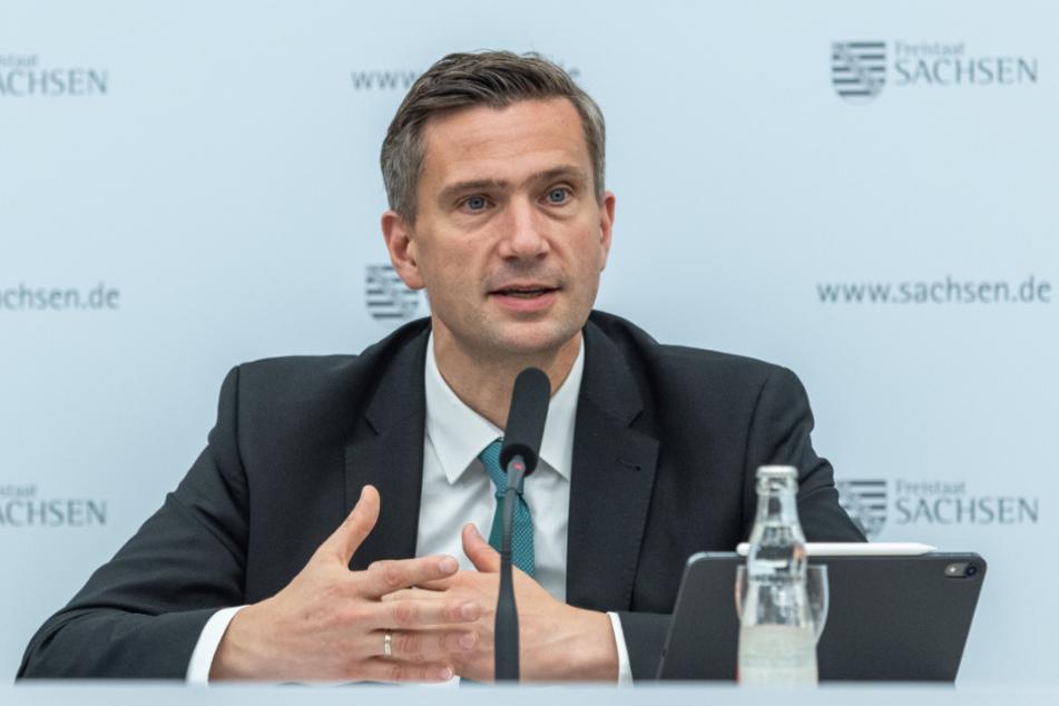 Wirtschaftsminister Martin Dulig (46, SPD).