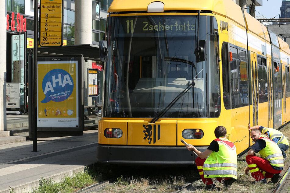 Straßenbahn-Unfall am Hauptbahnhof: 58-Jährige wird angefahren und schwer verletzt