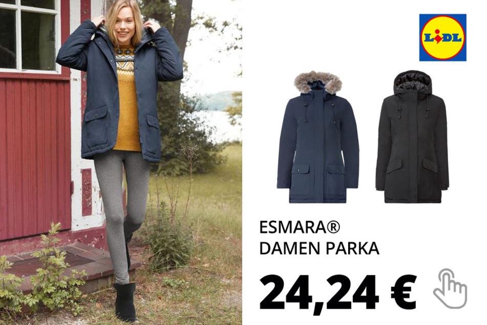 ESMARA® Damen Parka, mit Imprägnierung, windabweisend(nur online)
