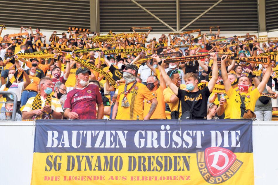 Sie dürfen: In Bautzen sind die Coronazahlen vergleichsweise niedrig. Deshalb können Fans aus der Stadt am Sonntag ins Stadion kommen.