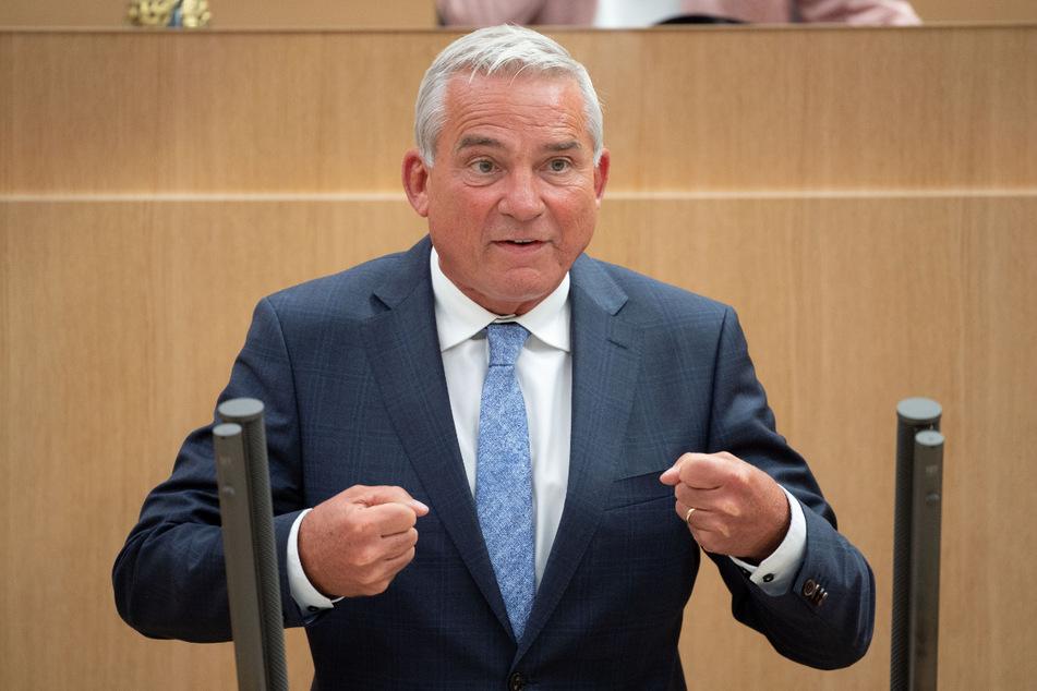 Innenministe rin Baden-Württemberg und CDU-Bundesvize: Thomas Strobl (60).