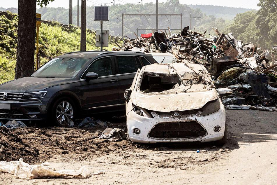 Heftige Unwetter: Wieder Autos in Belgien weggespült