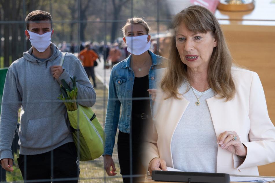 Wie auf dem Lingnermarkt in Dresden müssen Menschen einen Mundschutz tragen. Dies kündigte Gesundheitsministerin Petra Köpping (61, SPD) an.
