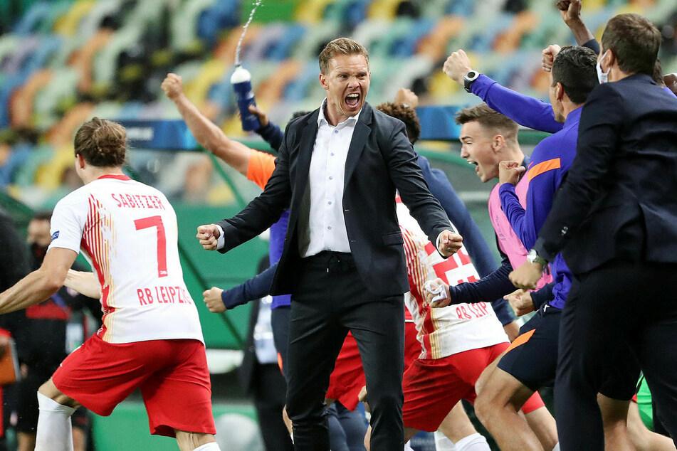 Julian Nagelsmann (33) geht mit RB Leipzig in die zweite Saison.