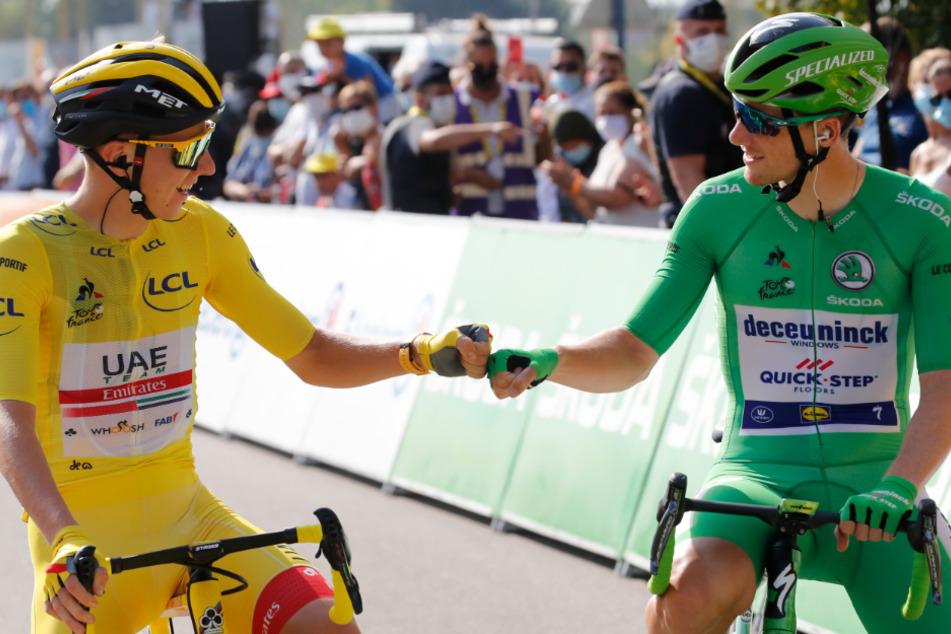 Tour de France: Tadej Pogacar zweitjüngster Gewinner der Geschichte