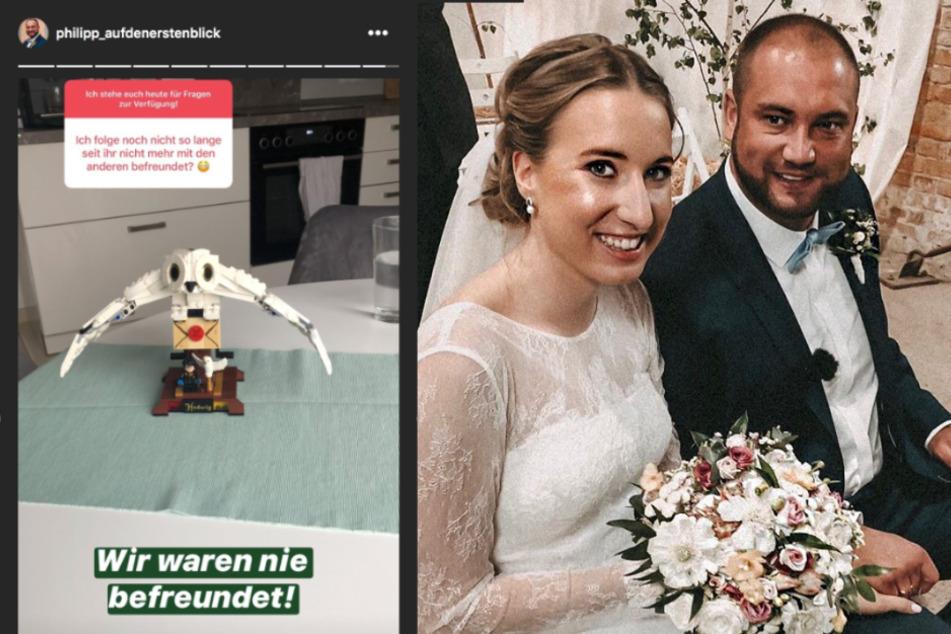 """Philipp von """"Hochzeit auf den ersten Blick"""" stellt klar: """"Wir waren nie befreundet!"""""""