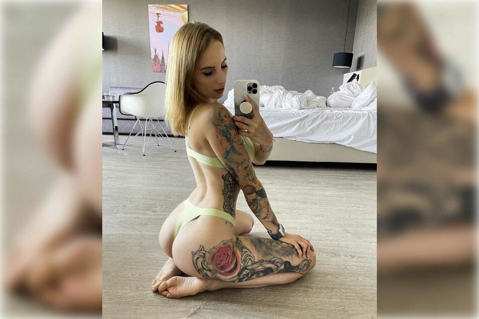Die Porno-Darstellerin zeigt sich auf Instagram gerne freizügig.