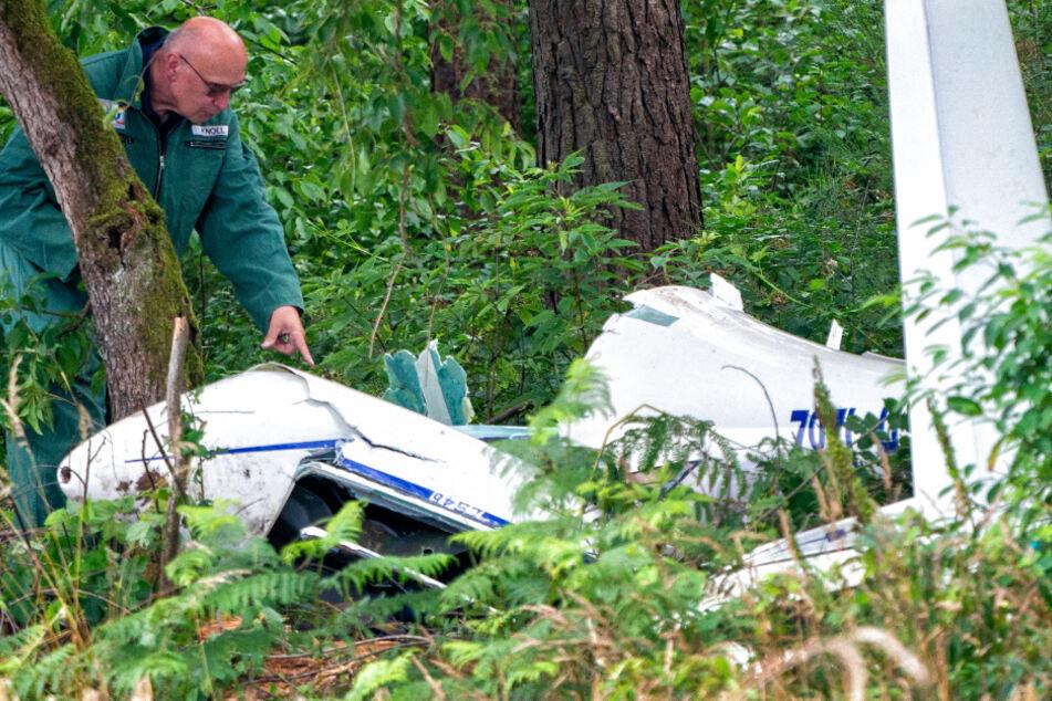 Zwei Piloten bei Segelflieger-Absturz gestorben: Welche Fragen noch offen sind