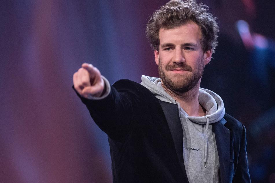 Luke Mockridge, bester Komiker 2019 (Guido Kirchner/dpa)