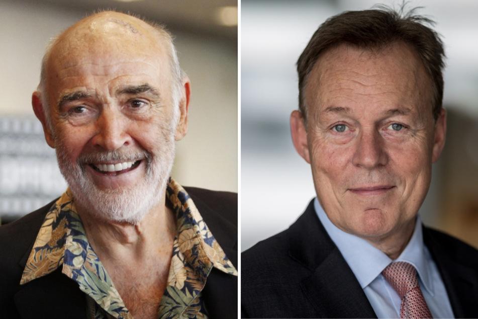 Sean Connery (l.) und Thomas Oppermann.