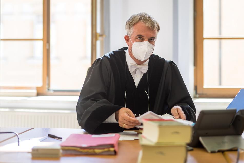 Führt das Rechtsbeugungs-Verfahren gegen seinen Eilenburger Kollegen: Landrichter Berthold Pfuhl.