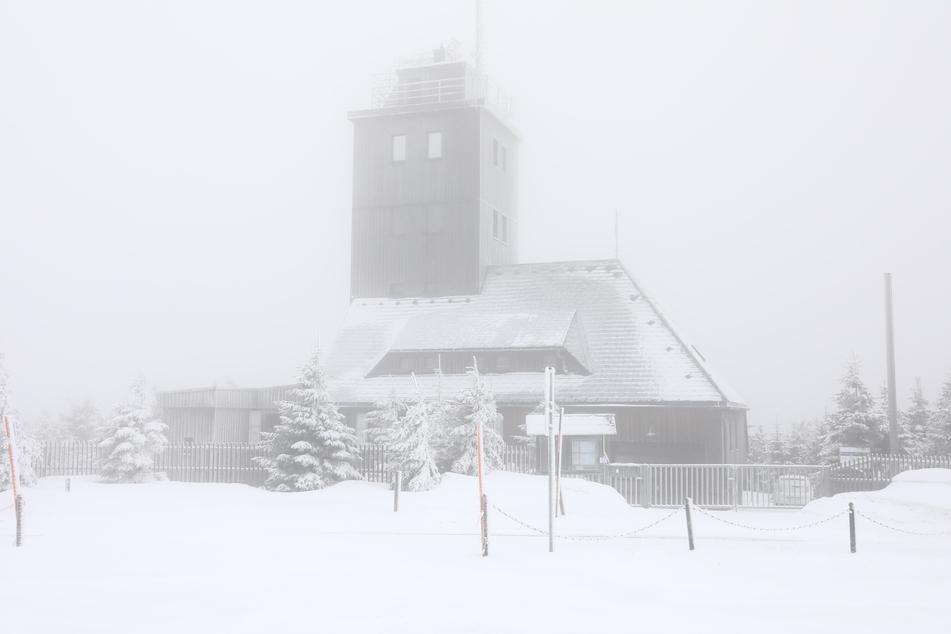 Der Winter ist zurück! Mehrere Zentimeter Neuschnee in Sachsen