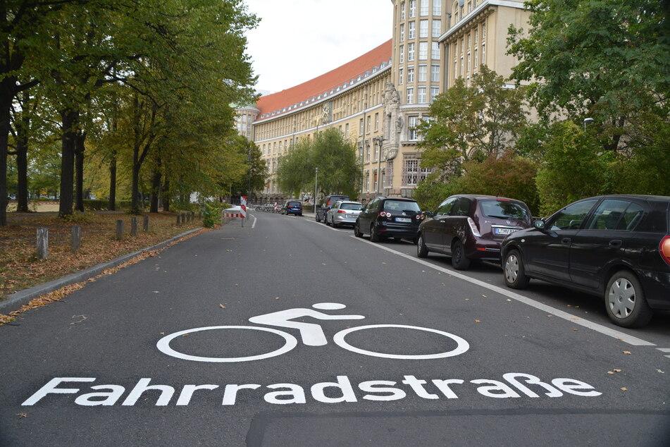 Leipzig: Mehr Sicherheit für Radler: Leipziger Fahrradstraßen besonders gekennzeichnet