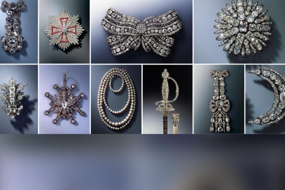 Unschätzbarer Wert: Diese Juwelen kamen beim Diebstahl von 2019 abhanden.